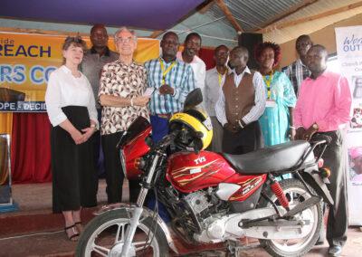 Giving Pastors Motorcycles, Kenya